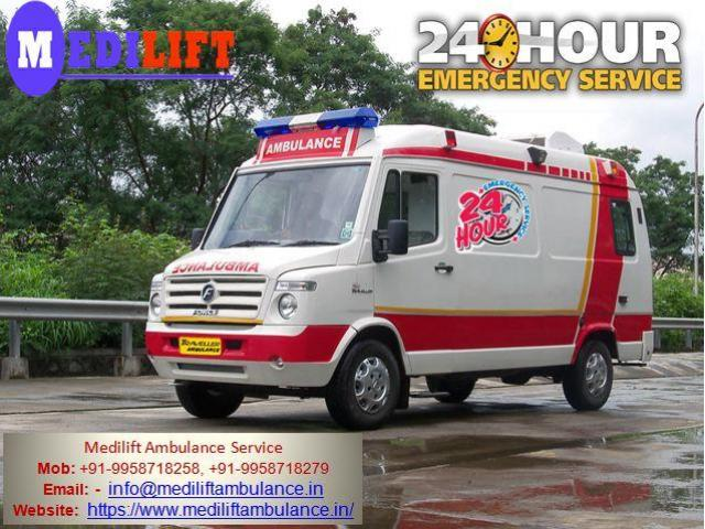 Get Best and Affordable Medilift Ambulance Services in Dhanbad for Well Facility