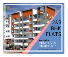 2 bhk and 3bhk Flats for sale In Manikonda