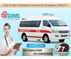 Use Marvelous Medical Care Ambulance Service in Bokaro by Medivic