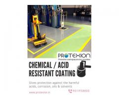 Extreme Chemical Resistant Coating To Avoid Corrosion