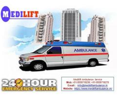 Avail Experienced Medical Support Ambulance Service in Muzaffarpur