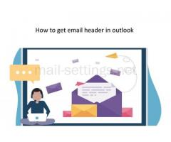 Do You Want To Get Email Header In Outlook?