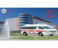 King Ambulance Service in Ramgarh- Advanced Medical Support