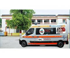Now Book the King Low Charges Ambulance Service in Kurji