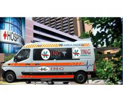 Best and Emergency Ambulance Service in Patel Nagar by King