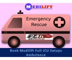 Avail Reasonable Cost Road Ambulance Service in Muzaffarpur