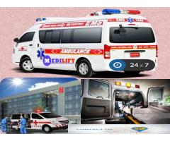 Medilift Road Ambulance Service in Madhubani- the Latest Amenities Added