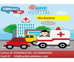Book High-Quality Ambulance Service in Koderma at Reasonable Cost