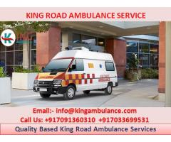 Emergency Road Ambulance Service in Bhagalpur by King Ambulance