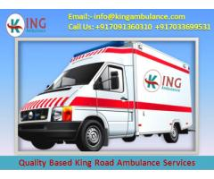 Best and Cost-Effective Ambulance Service in Muzaffarpur by King