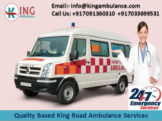 King Emergency Ambulance Service in Darbhanga with More Benefits