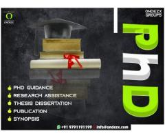 Phd Guidance ,Assistance