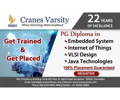 JOB Assured PG Diploma Training in Embedded, IoT, VLSI, Java