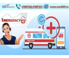 Book Low-Cost Ambulance Service in Patna with Doctor Facility