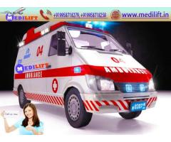Hire Medilift Ambulance Service in Katihar at the Possible Low Price