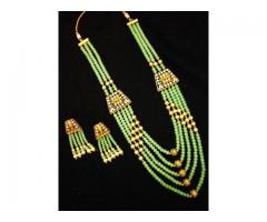 Imitation Pendant Set Online India - La Trendz
