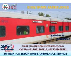 Top-Class King Train Ambulance Service in Kolkata at Least Cost