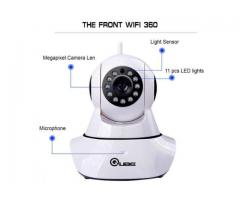 Wireless CCTV Camera with 360 degree rotation