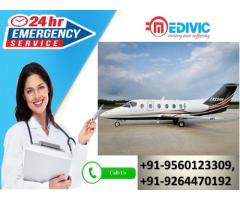 Take the Most Estimable ICU Care by Medivic Air Ambulance Service in Kolkata