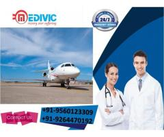 Gain Unique Healthcare by Medivic Air Ambulance Service in Ranchi
