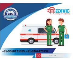 Take Medivic Ambulance Service in Patna with Supercilious ICU Setup