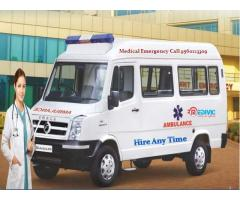 Road Ambulance Service in Varanasi with Best Medical Team
