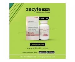 Buy online Zecyte 250 mg from the Pillsbills