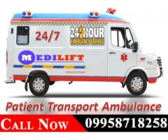 Book Online Ambulance in Ranchi by Medilift