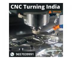 CNC Turning India services at DeccanEW