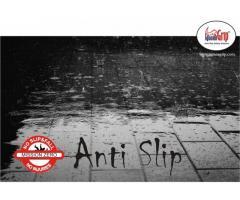 IguanaGrip Anti-slip floor treatement for wet floors.