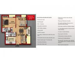 2BHK, 835 sqft, New apartment for sale at attractive price in main area