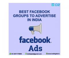 Who is the best Facebook groups to advertise in India