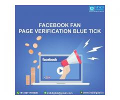 Are you looking for Facebook fan page verification blue tick service?