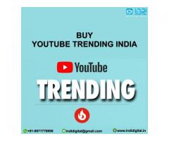 Get the best service of YouTube trending in India