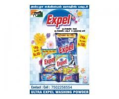 ULTRA EXPEL WASHING POWDER