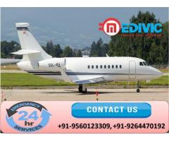Gain Authentic Life-Support Air Ambulance in Guwahati by Medivic