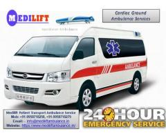 Get Medilift Road Ambulance Service in Bokaro with Expert Medical Team