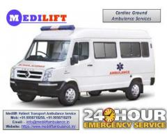 Get Quick and Trustable Medilift Road Ambulance in Jamshedpur at Low Budget