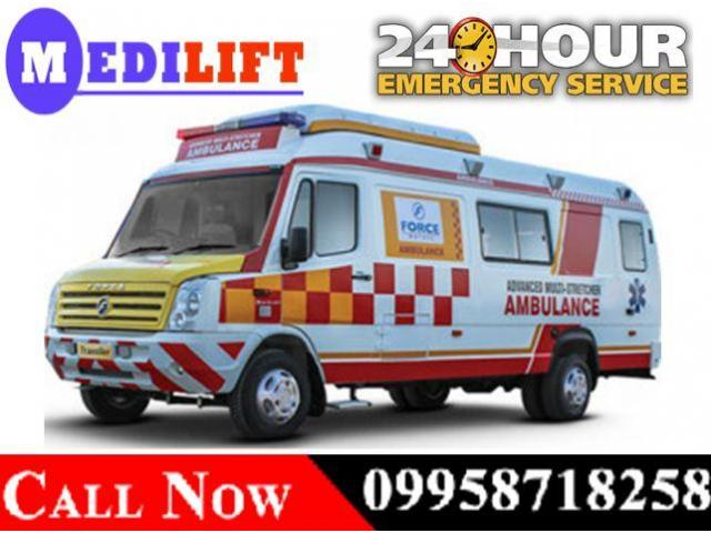 Get Emergency and Low-Cost Road Ambulance Service in Varanasi for Best Services