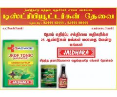 9244493444 DR ADVICE JALDHARA-KABASURA CAUGH SYRUP-DISTRIBUTING-COONOOR KOTHAGIRI