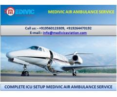 Take Supersonic Medical Assistance by Medivic Air Ambulance in Patna