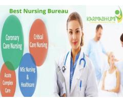 Karmabhumi Nursing Bureau caretaker services