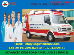 Darbhanga to Patna Ambulance Service by King Ambulance