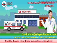 Now 24x7 Hours King Ambulance Service in Bhagalpur