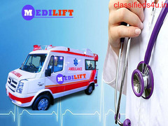 Avail Top-Class Medilift Ambulance in Patna for Emergency Patient