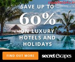 Secret Escapes  luxury Hotels