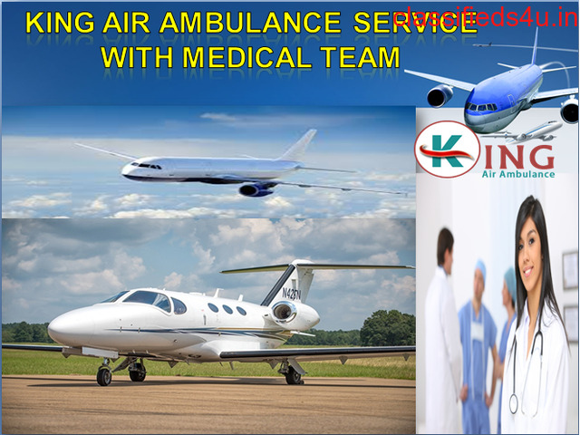 King Air and Train Ambulance Service in Ranchi