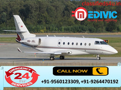 Take Matechless Emergency Air Ambulance in Chennai by Medivic