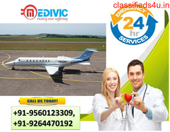 Choose the Finest Life-Sustaining Air Ambulance in Patna by Medivic