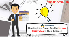 How Business Owner Can Use Udyam Registration In Their Business?